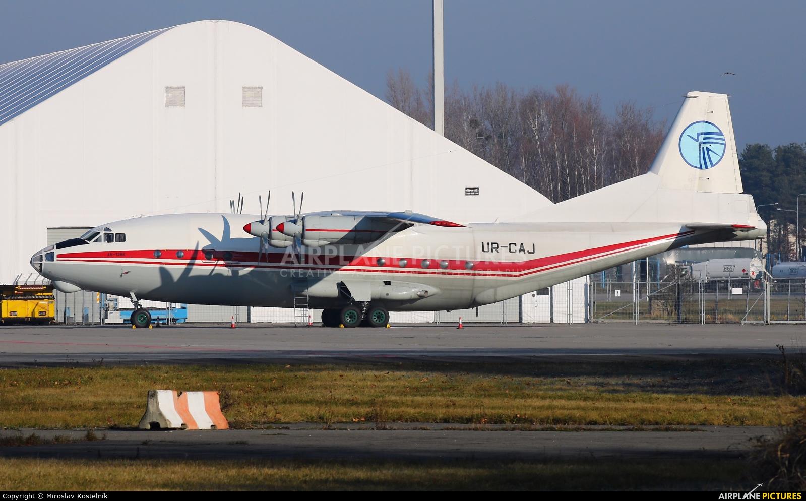 Ukraine Air Alliance UR-CAJ aircraft at Ostrava Mošnov