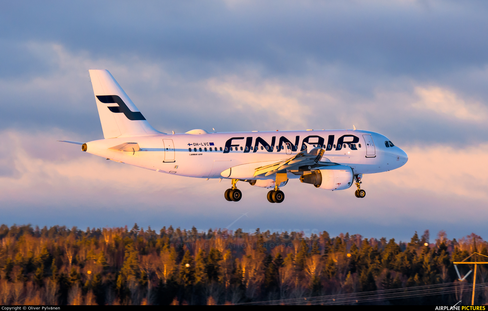 Finnair OH-LVC aircraft at Helsinki - Vantaa