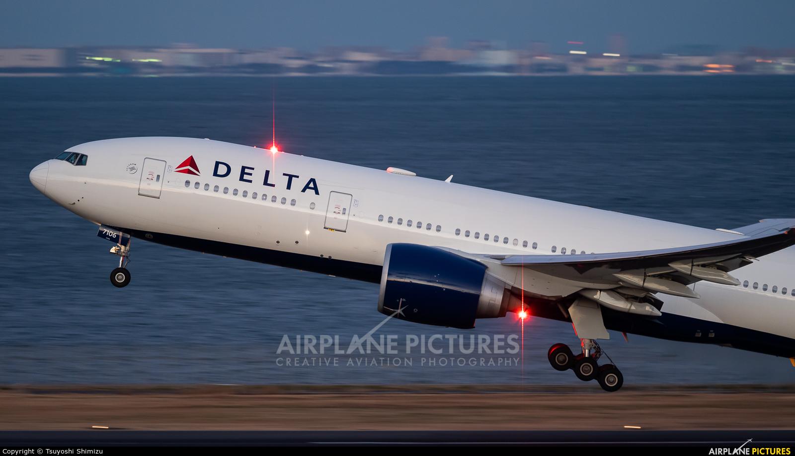 Delta Air Lines N706DN aircraft at Tokyo - Haneda Intl