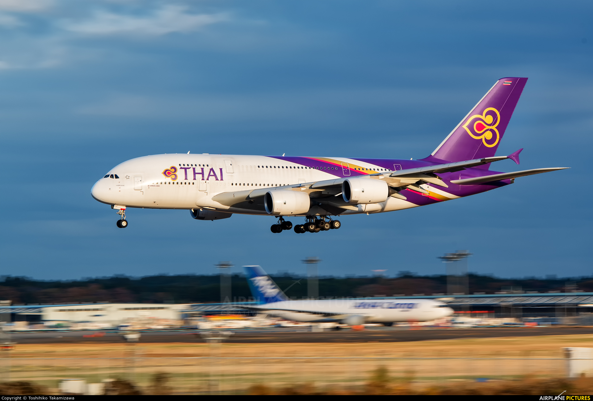 Thai Airways HS-TUF aircraft at Tokyo - Narita Intl