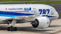 JA805A - ANA - All Nippon Airways Boeing 787-8 Dreamliner aircraft