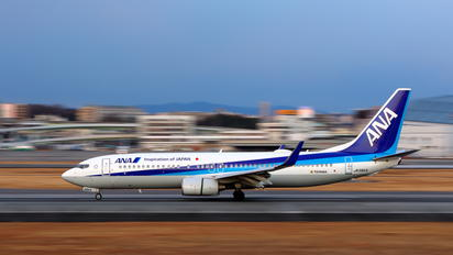JA58AN - ANA - All Nippon Airways Boeing 737-800