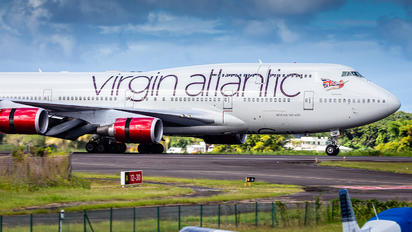 G-VROM - Virgin Atlantic Boeing 747-400