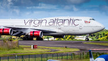 First visit of Virgin Atlantic in Guadeloupe airport title=