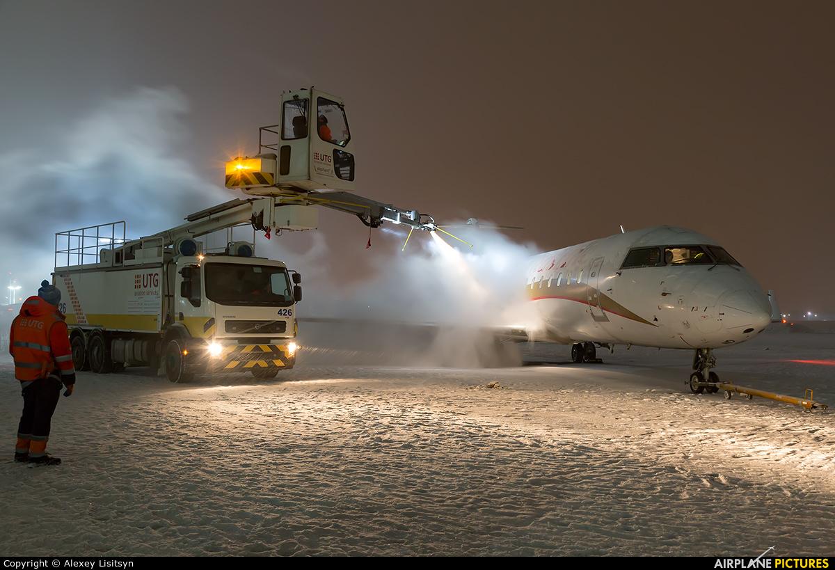 Rusline VQ-BND aircraft at Moscow - Vnukovo