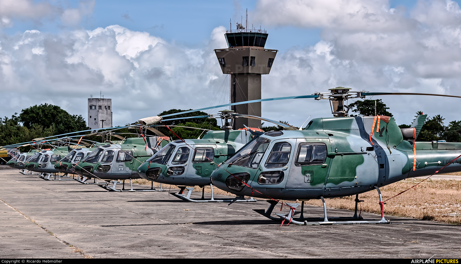 Brazil - Air Force - aircraft at Natal - Augusto Severo