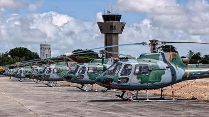 - - Brazil - Air Force - Airport Overview - Apron