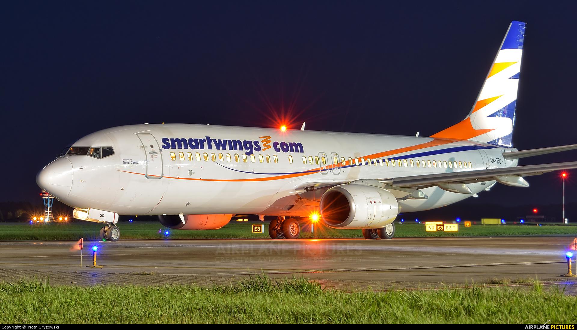 SmartWings OK-TSC aircraft at Katowice - Pyrzowice