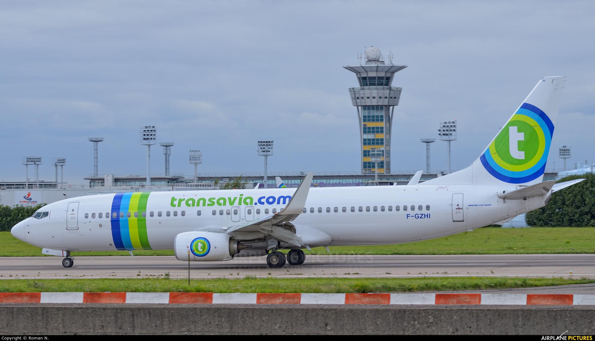 Transavia France F-GZHI aircraft at Paris - Orly