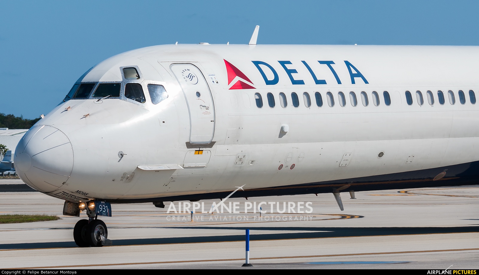 Delta Air Lines N931DL aircraft at Fort Lauderdale - Hollywood Intl