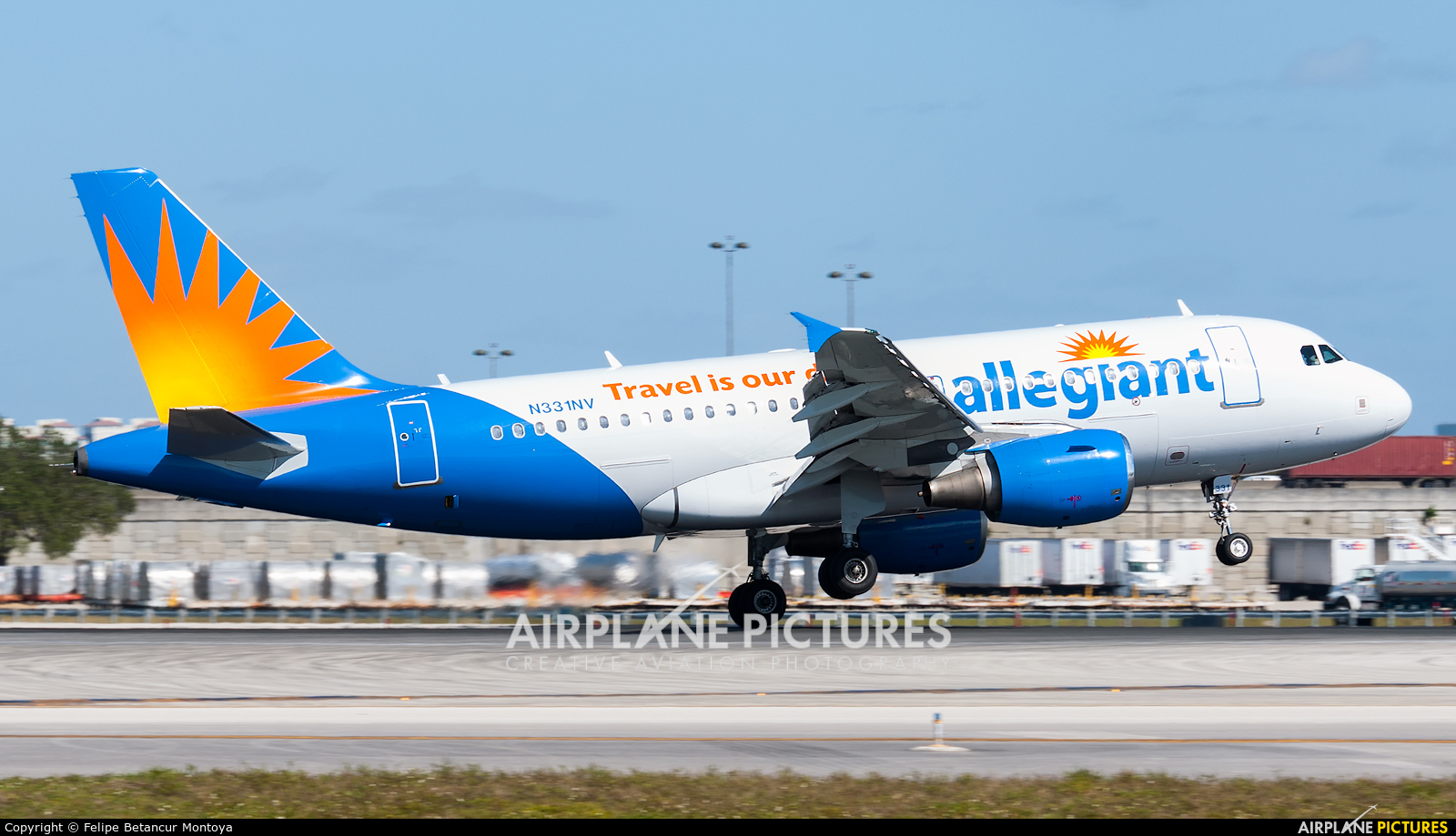 Allegiant Air N331NV aircraft at Fort Lauderdale - Hollywood Intl