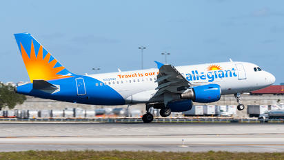 N331NV - Allegiant Air Airbus A319