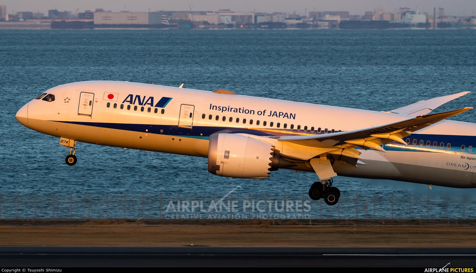 ANA - All Nippon Airways JA874A aircraft at Tokyo - Haneda Intl