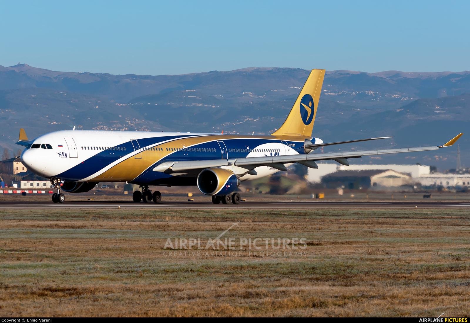 I-Fly Airlines EI-FBU aircraft at Verona - Villafranca