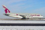 A7-APB - Qatar Airways Airbus A380 aircraft