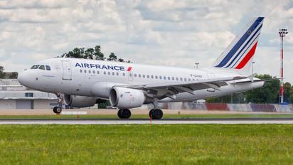 F-GUGD - Air France Airbus A318