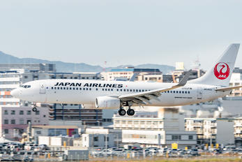 JA342J - JAL - Japan Airlines Boeing 737-800
