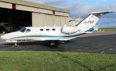 OE-FWF - Globe Air Cessna 510 Citation Mustang