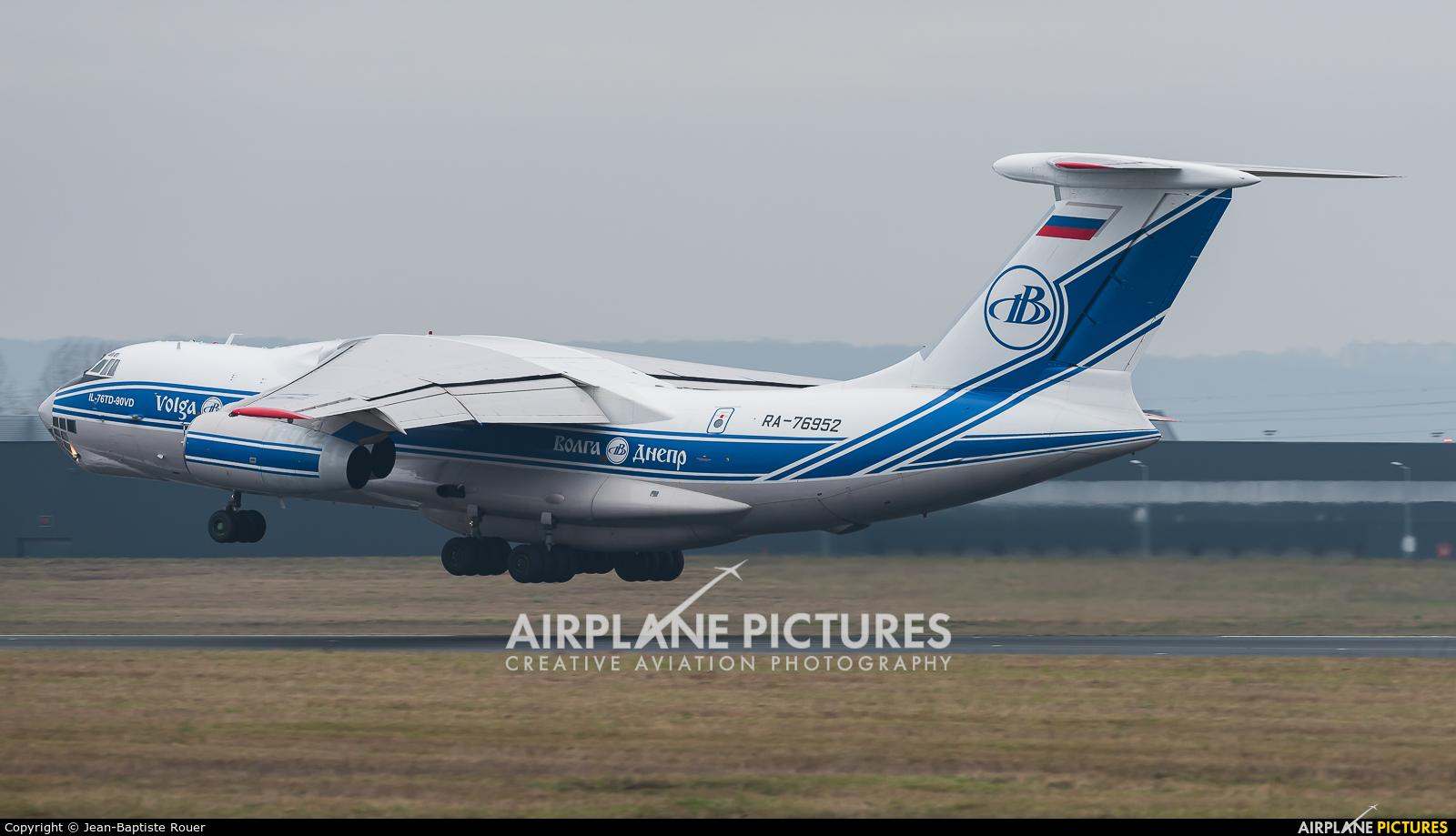 Volga Dnepr Airlines RA-76952 aircraft at Paris - Orly
