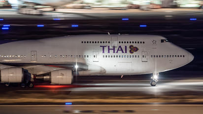 HS-TGO - Thai Airways Boeing 747-400D