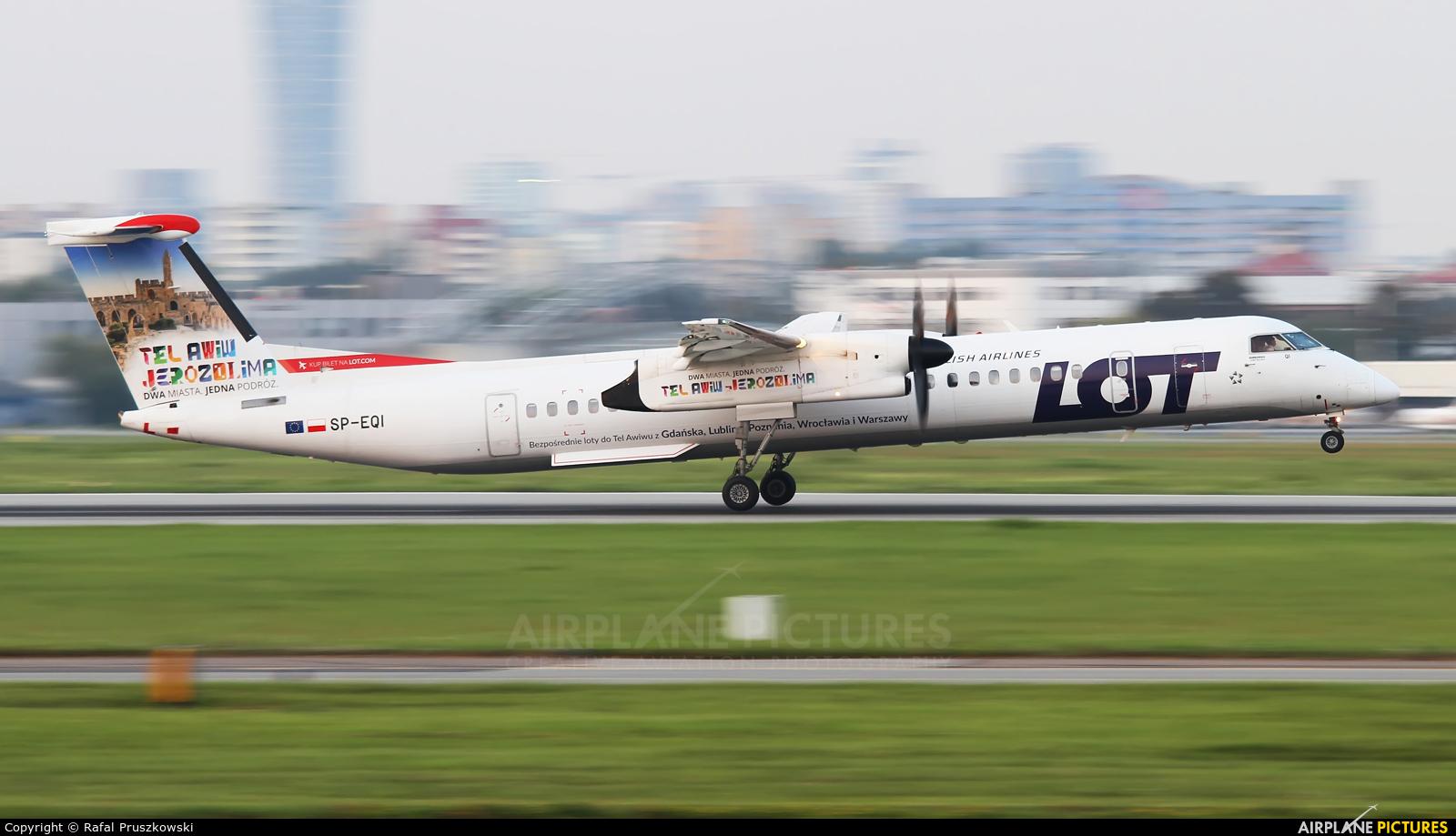 LOT - Polish Airlines SP-EQI aircraft at Warsaw - Frederic Chopin