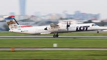 SP-EQI - LOT - Polish Airlines de Havilland Canada DHC-8-402Q Dash 8 aircraft