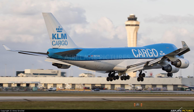 KLM Cargo PH-CKA aircraft at Miami Intl