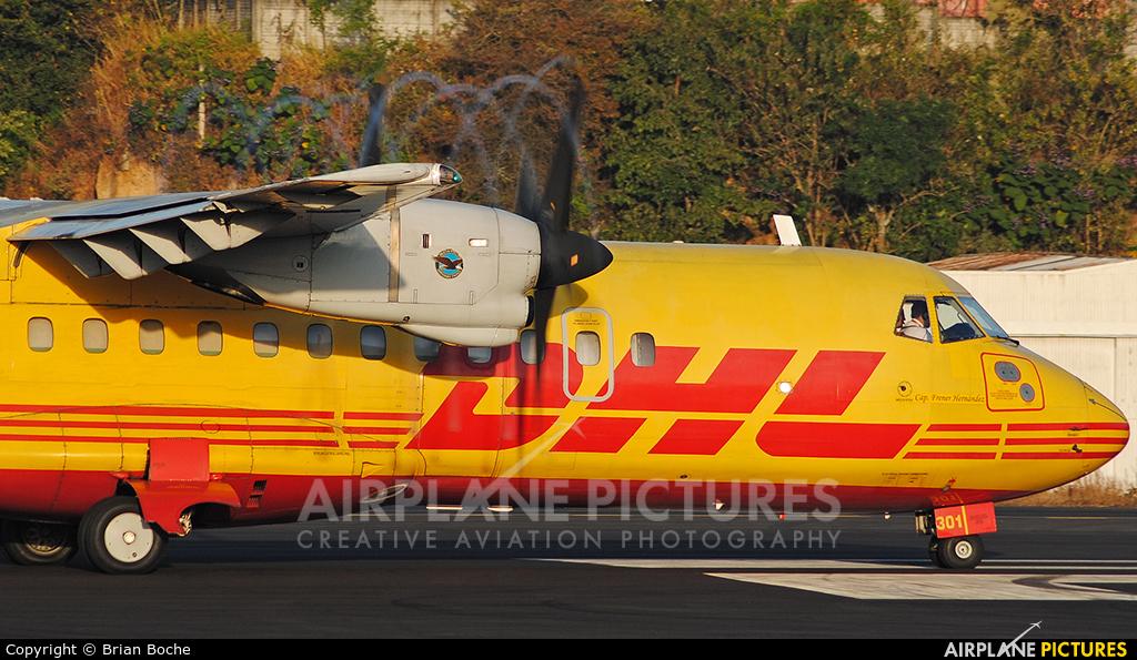 DHL Cargo TG-DHP aircraft at Guatemala - La Aurora