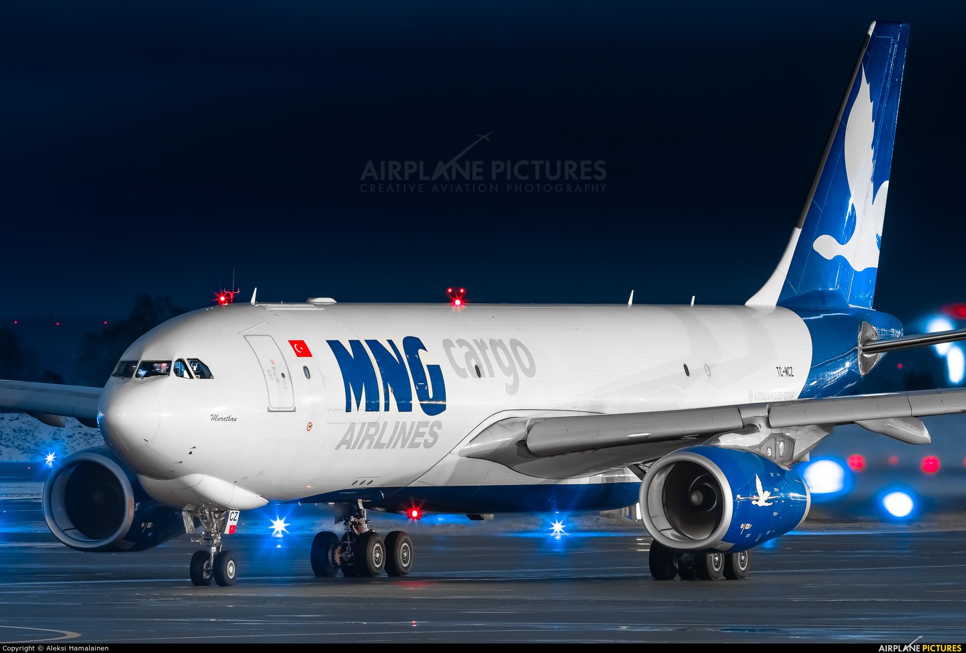 MNG Cargo TC-MCZ aircraft at Helsinki - Vantaa