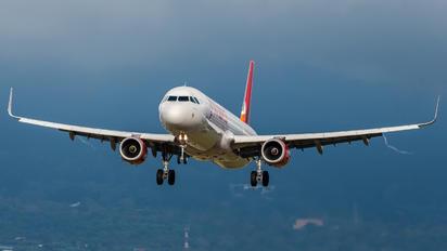 N692AV - Avianca Airbus A321