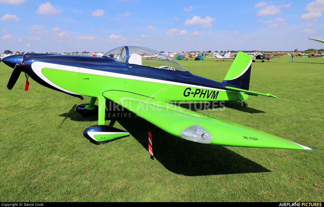 Private G-PHVM aircraft at Northampton / Sywell