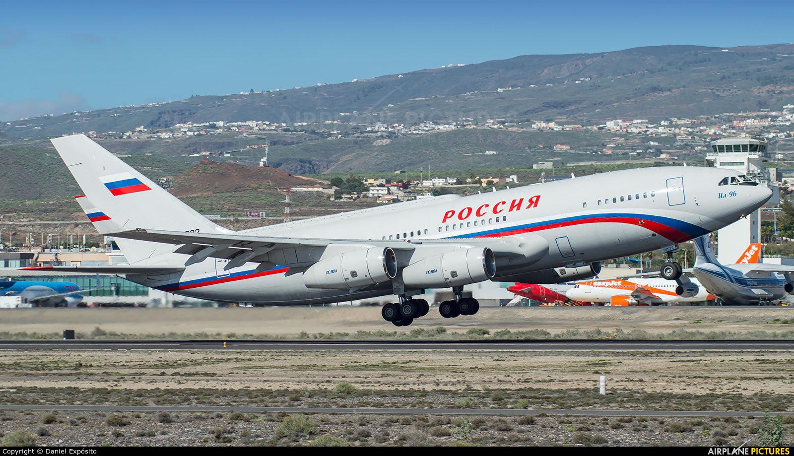 Russia - Government RA-96022 aircraft at Tenerife Sur - Reina Sofia