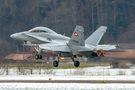 Switzerland - Air Force McDonnell Douglas F/A-18D Hornet J-5234 at Meiringen airport