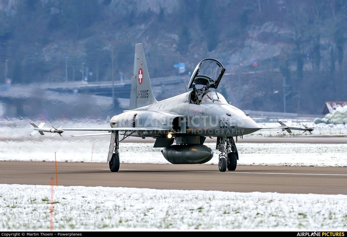 Switzerland - Air Force J-3005 aircraft at Meiringen