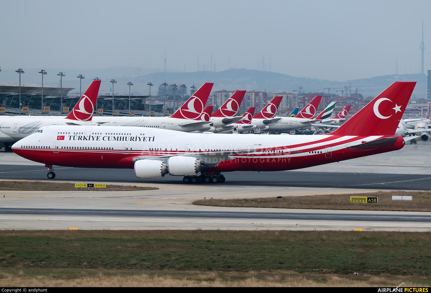 Turkey - Government TC-TRK aircraft at Istanbul - Ataturk