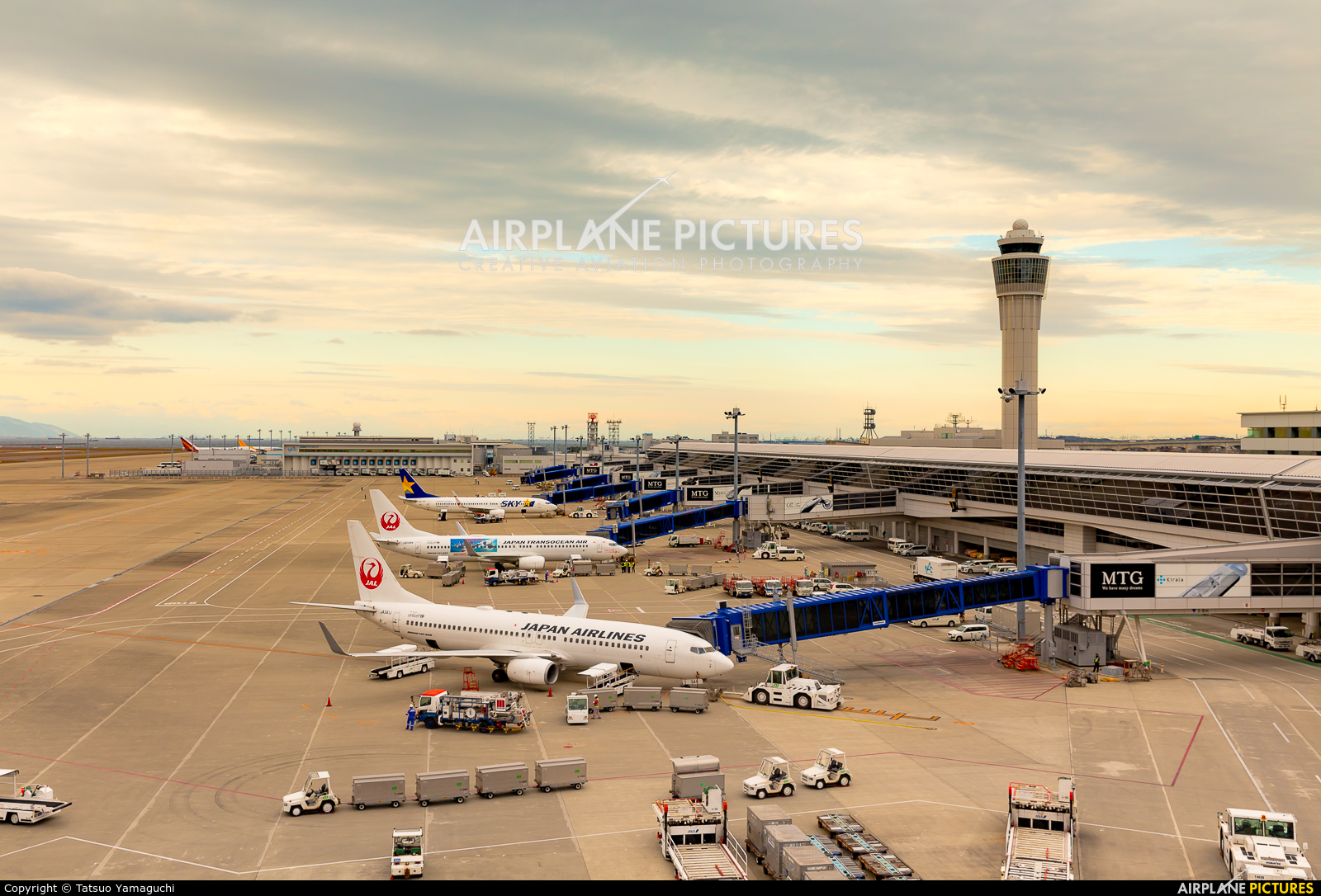 - Airport Overview - aircraft at Chubu Centrair Intl