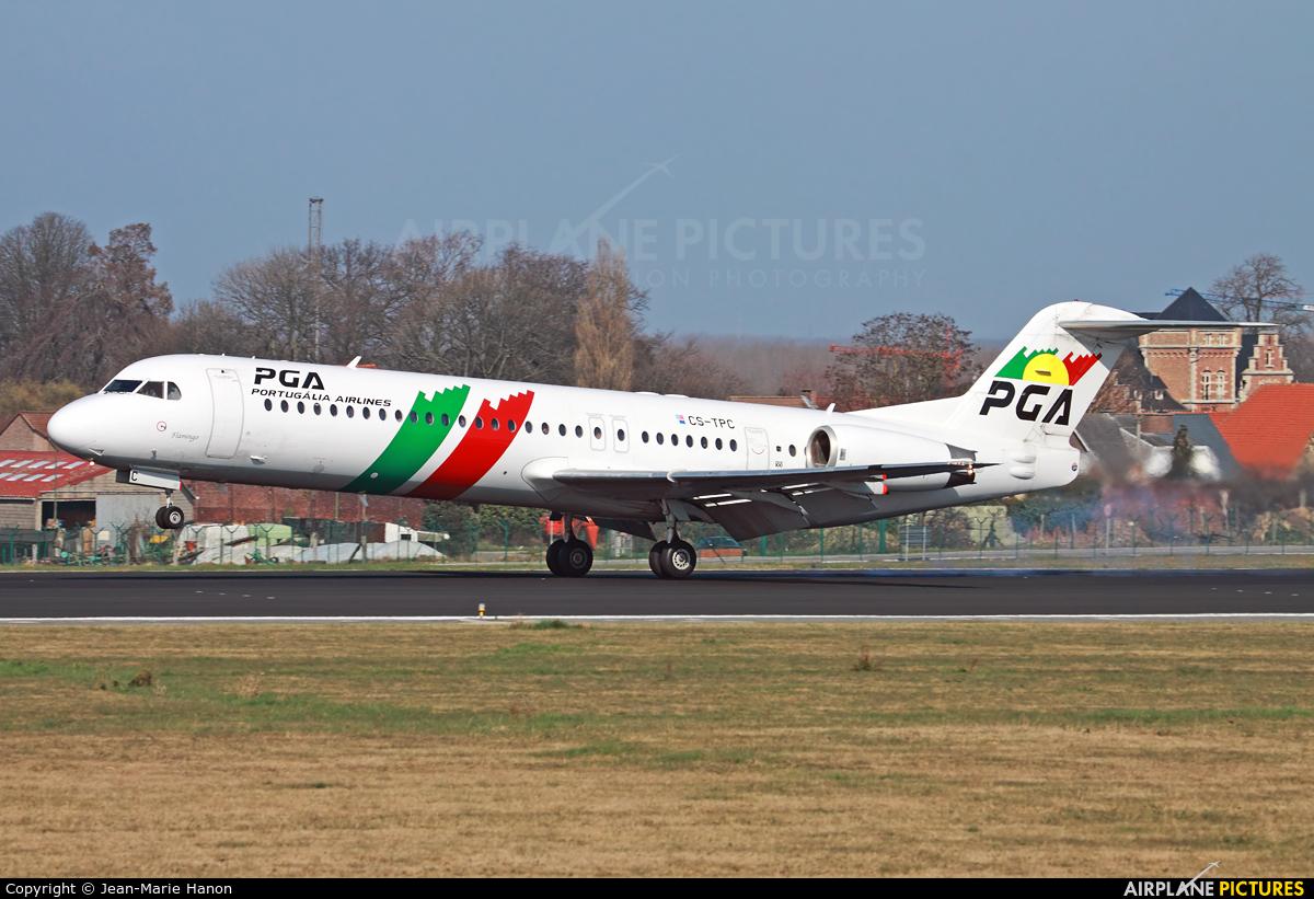 PGA Portugalia CS-TPC aircraft at Brussels - Zaventem