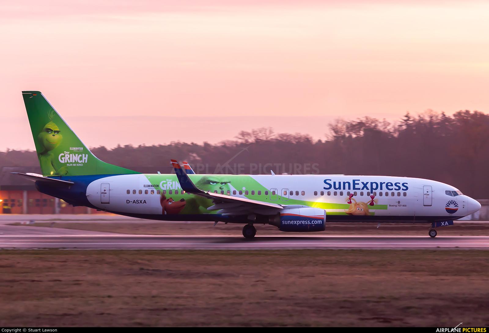 SunExpress Germany D-ASXA aircraft at Frankfurt