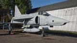 Sweden - Air Force SAAB AJSF 37 Viggen 37957 at Prague - Kbely, Letecké muzeum airport