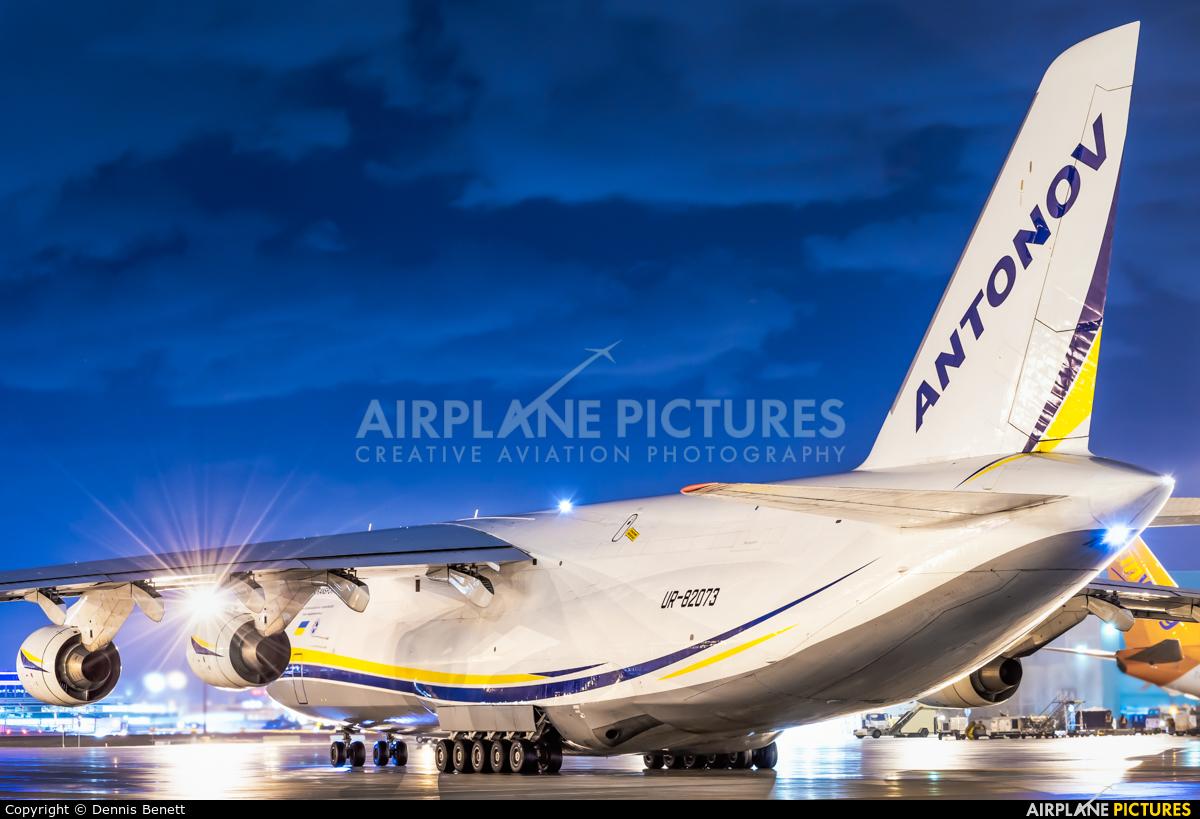 Antonov Airlines /  Design Bureau UR-82073 aircraft at Toronto - Pearson Intl, ON