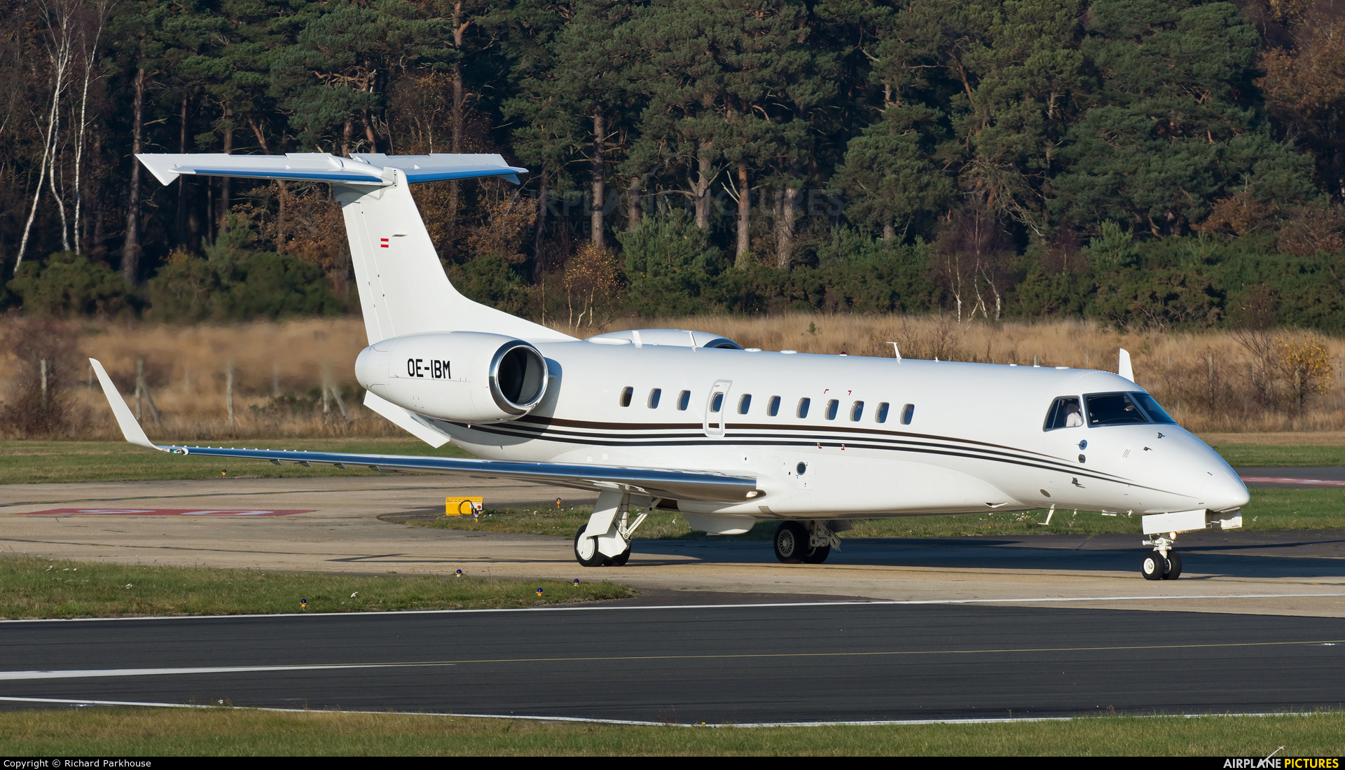 MJet Aviation OE-IBM aircraft at Farnborough