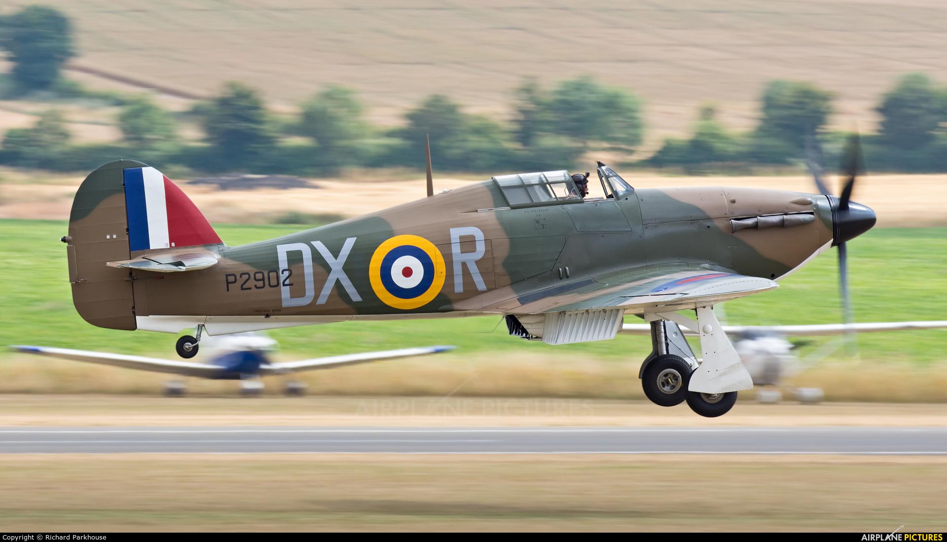 Flying Legends G-ROBT aircraft at Duxford