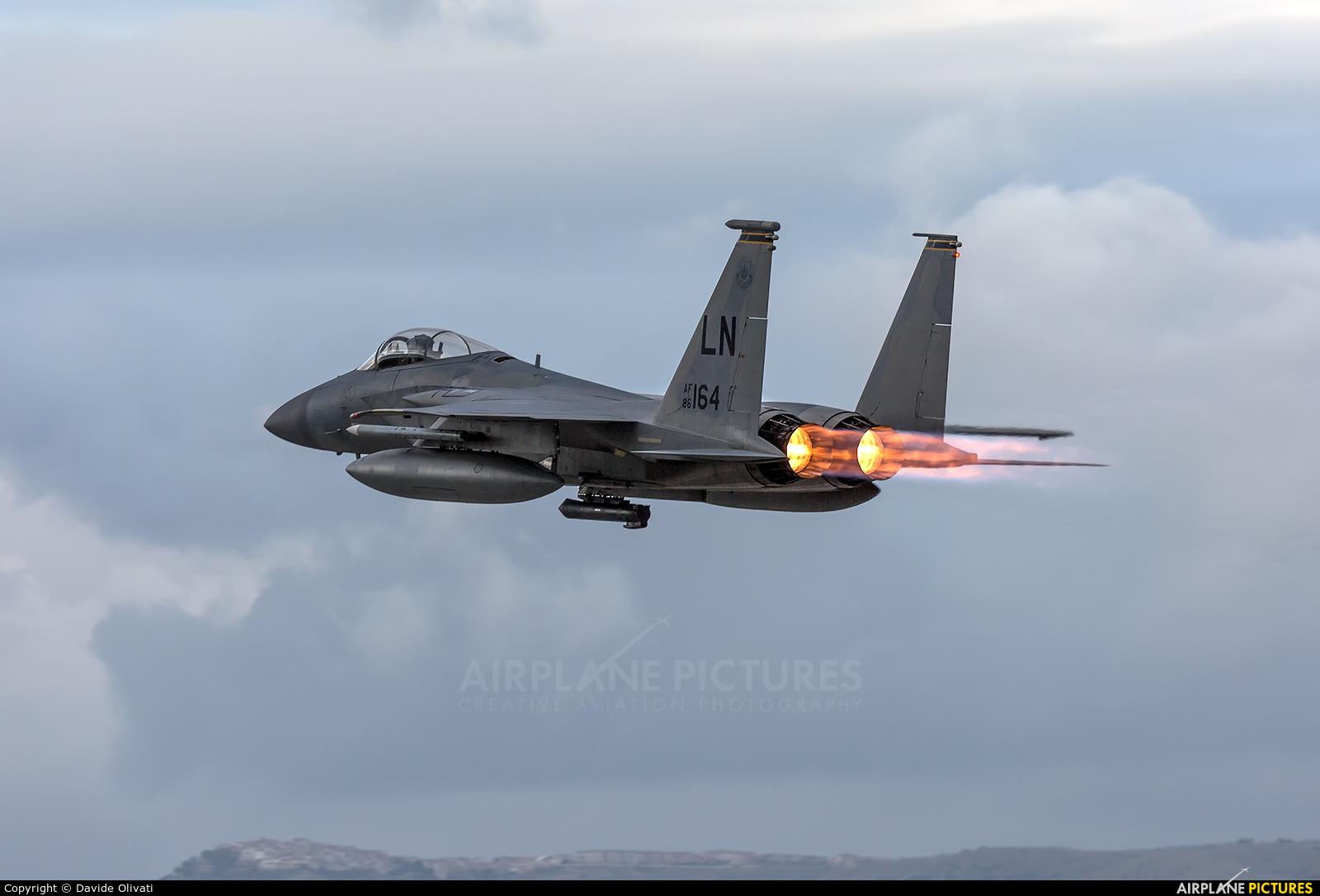 USA - Air Force 86-0164 aircraft at Amendola