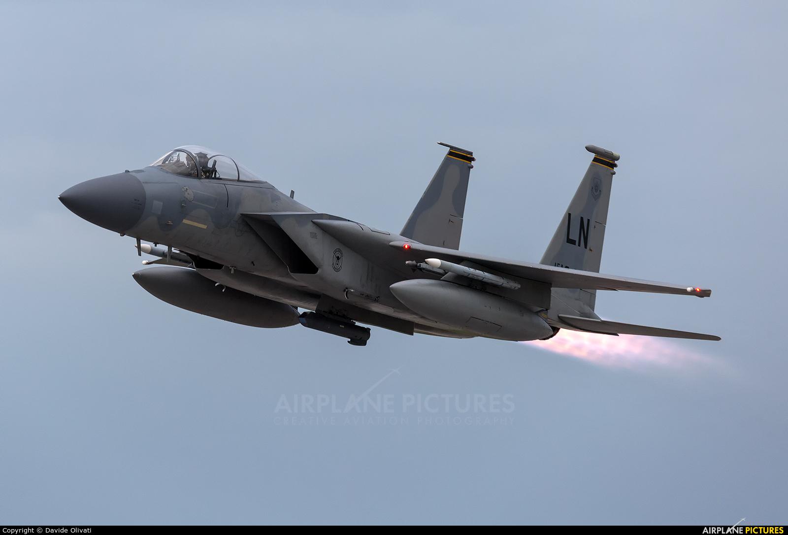 USA - Air Force 86-0174 aircraft at Amendola