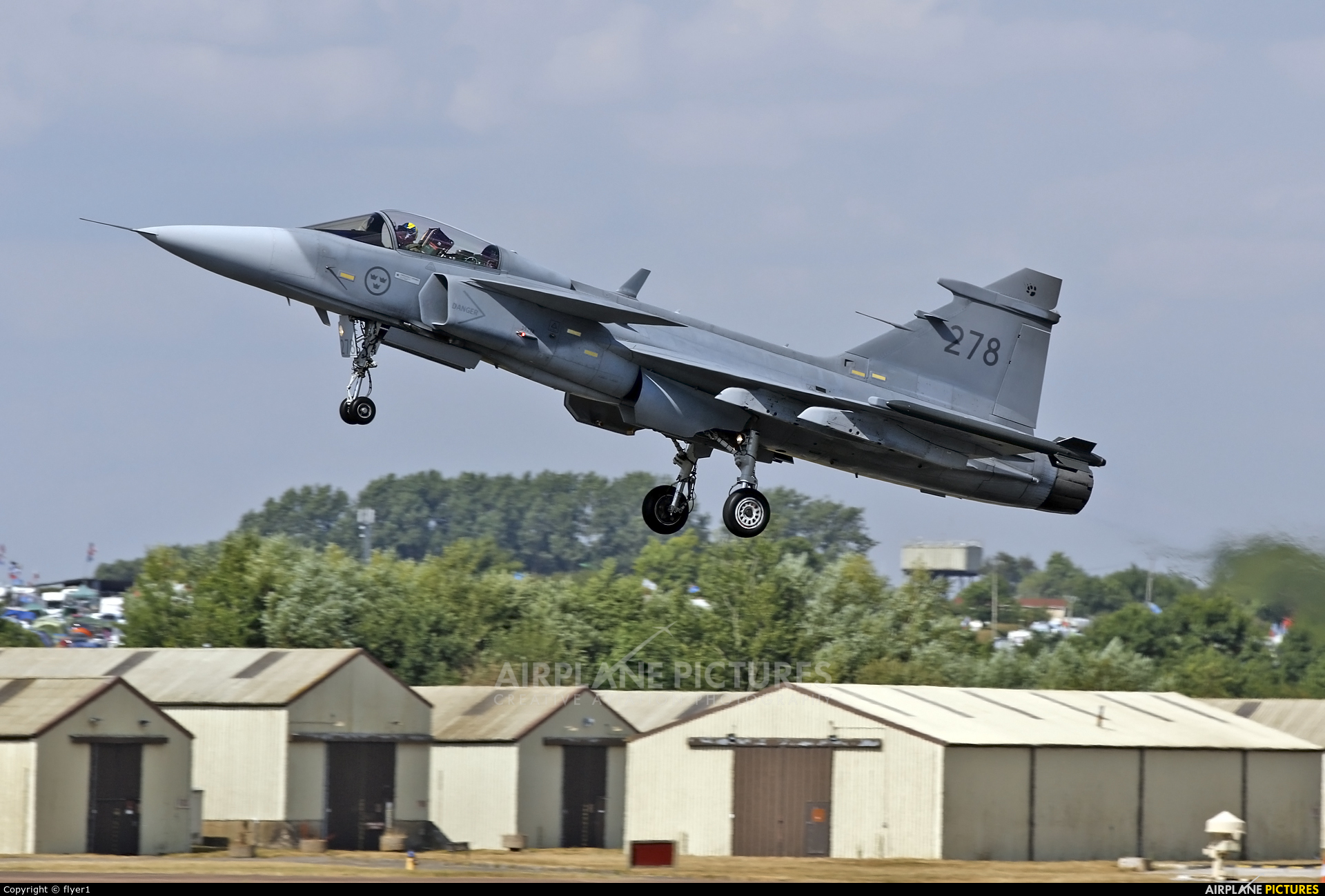 Sweden - Air Force 39278 aircraft at Fairford