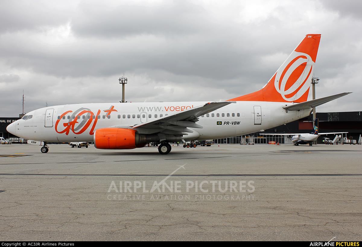 GOL Transportes Aéreos  PR-VBW aircraft at São Paulo - Guarulhos