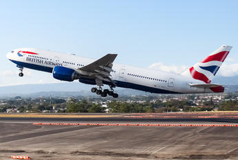 G-YMMD - British Airways Boeing 777-200