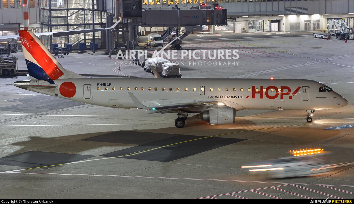 Air France - Hop! F-HBLF aircraft at Düsseldorf