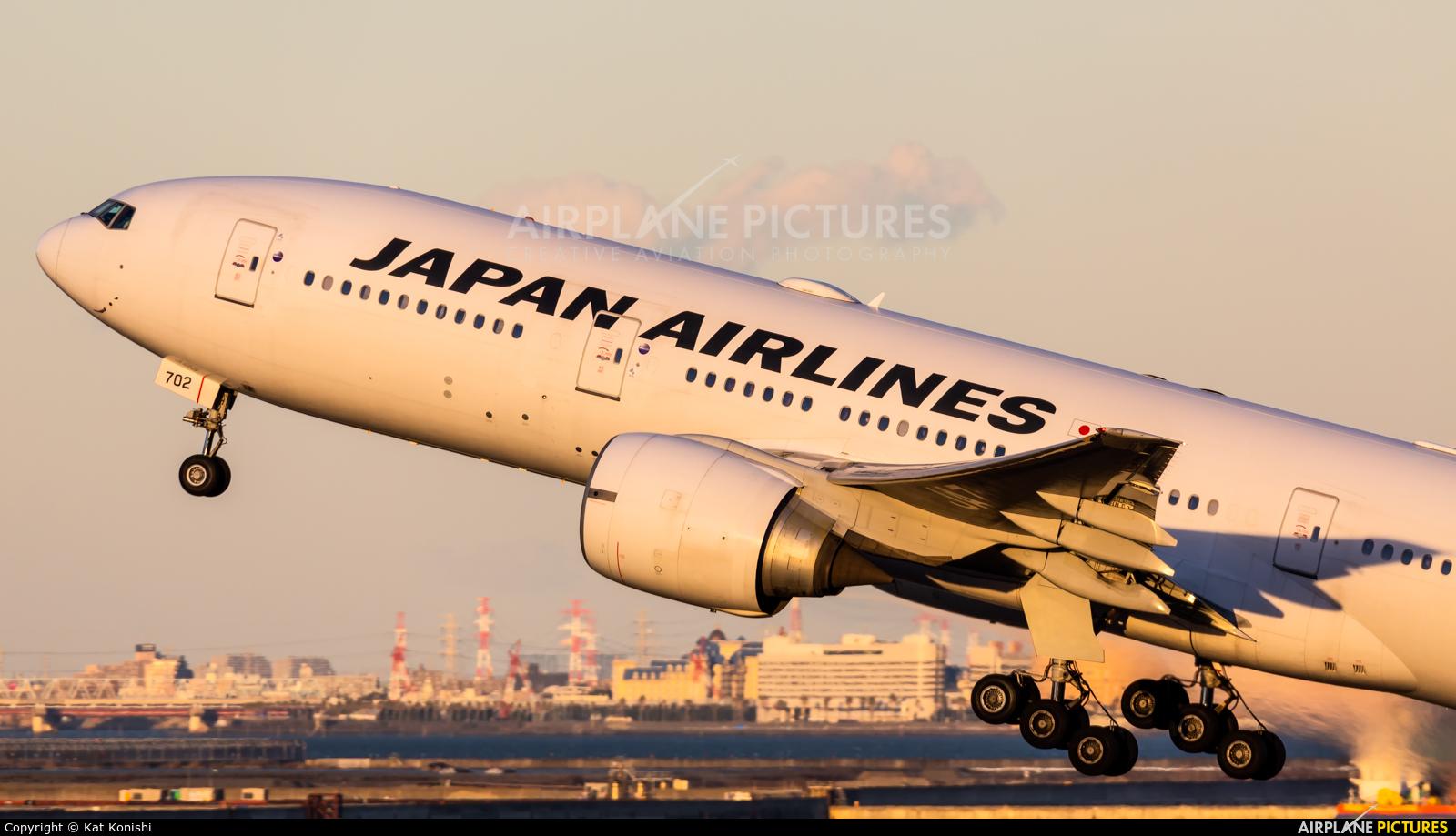 JAL - Japan Airlines JA702J aircraft at Tokyo - Haneda Intl