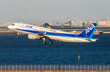 JA8997 - ANA - All Nippon Airways Airbus A320